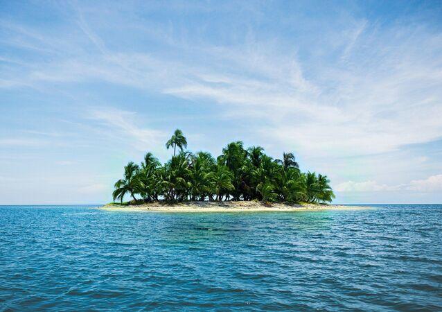 Ilha (imagem ilustrativa)