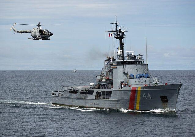 Meios da Marinha colombiana (imagem referencial)