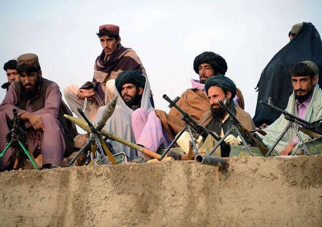 Combatentes do Talibã (foto de arquivo)