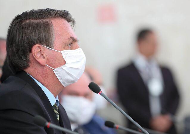 (Brasília - DF, 18/03/2020) Coletiva à Imprensa do Presidente da República, Jair Bolsonaro e Ministros de Estado.