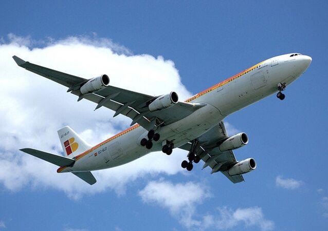 Avião da companhia aérea Iberia (foto de arquivo)