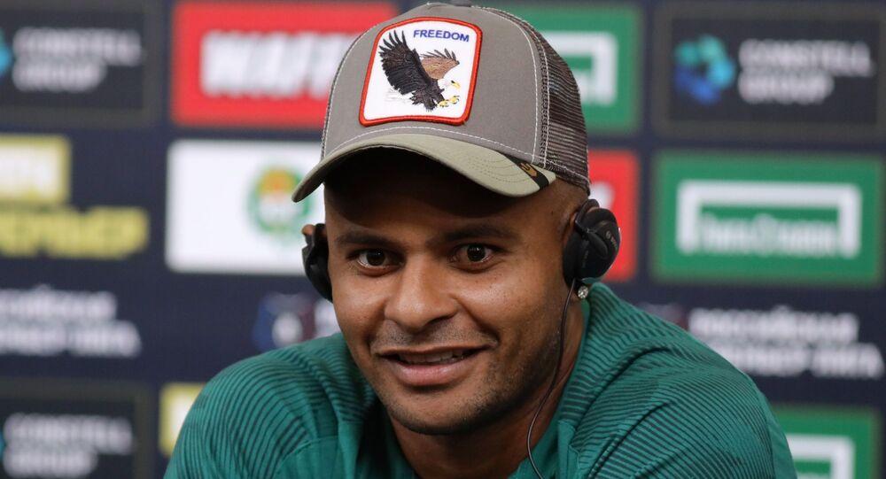 Jogador de futebol brasileiro Ari, atacante do Krasnodar