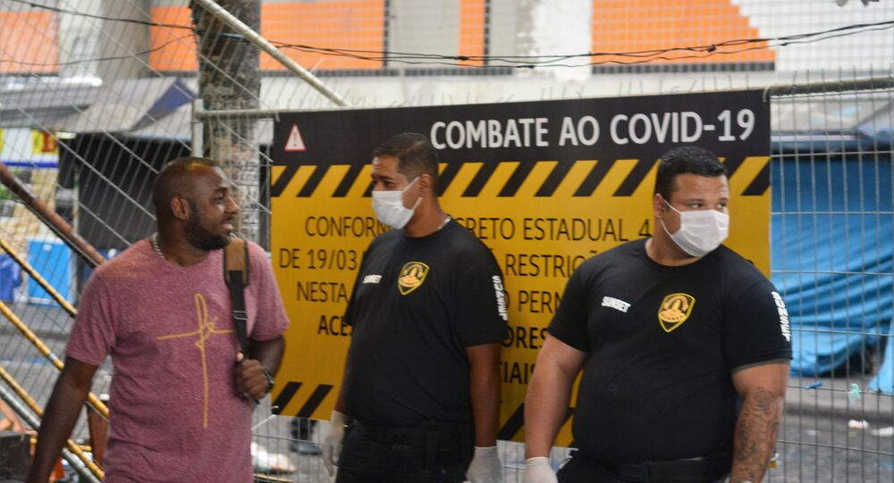 Campanha contra a COVID-19 no Rio de Janeiro