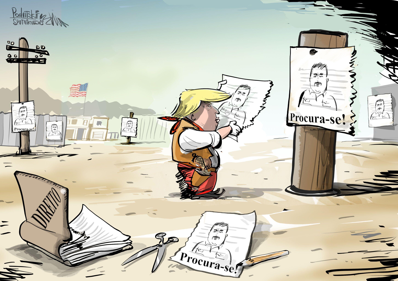Trump e Maduro: Dois Homens em Conflito