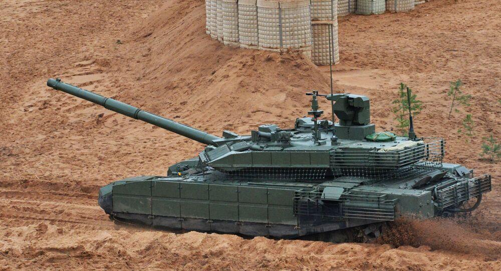 Tanque T-90M (foto de arquivo)