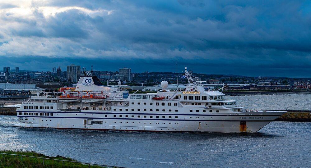 Navio Resolute na Escócia (foto de arquivo)