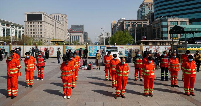 Dia de luto nacional pelo coronavírus na China