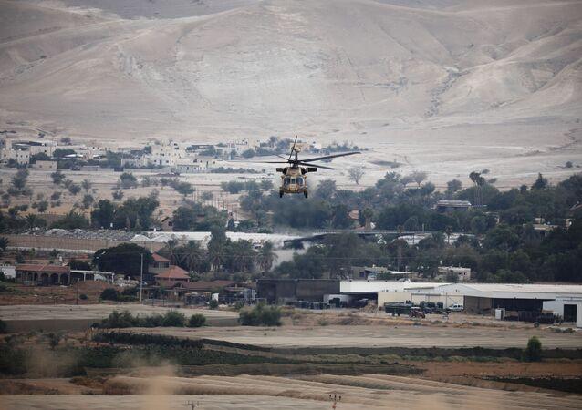 Helicóptero da Força Aérea Israelense