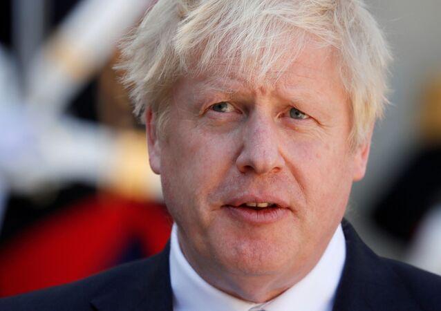 Premiê britânico, Boris Johnson (foto de arquivo)