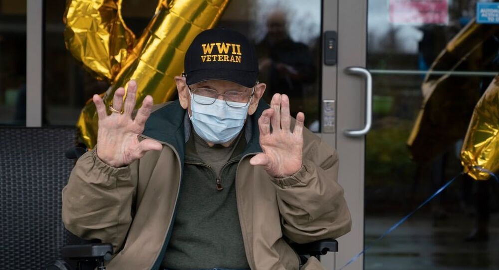 William Bill Lapschies, em meio à recuperação do coronavírus