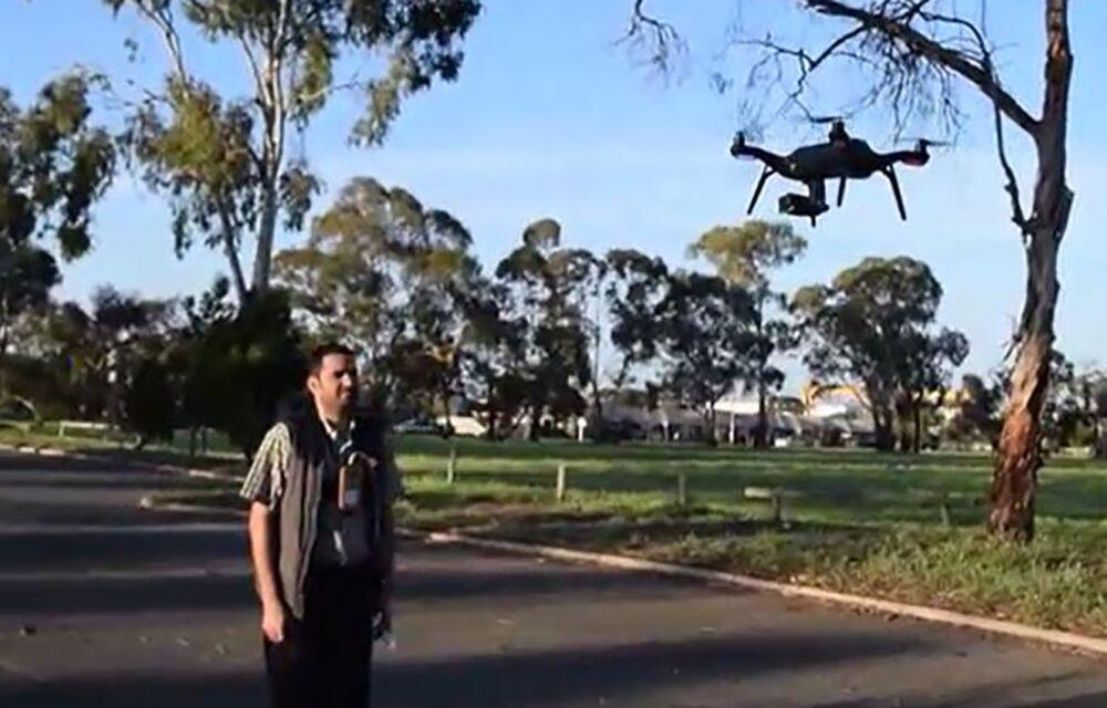 Universidade australiana demonstra drone com leitor térmico