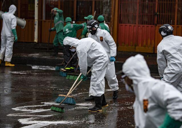 Situação em Bogotá, Colombia