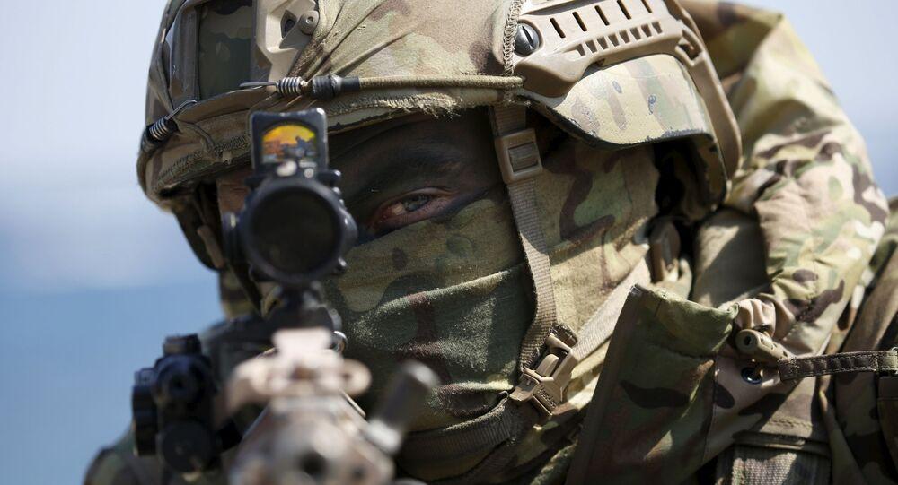 Soldado do Corpo de Fuzileiros Navais dos EUA