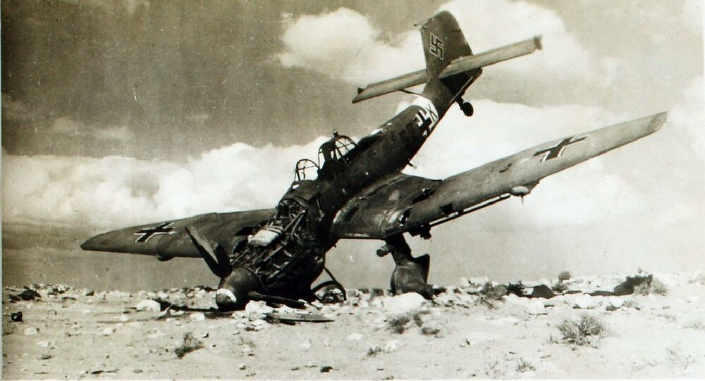 Bombardeiro Ju-87 Stuka