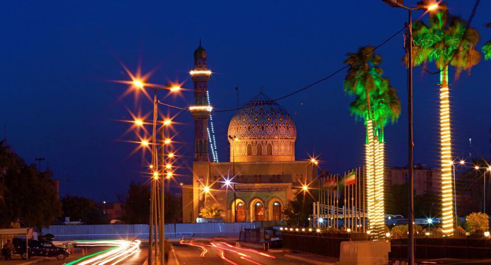 Mesquita em Bagdá, no Iraque (imagem de arquivo)