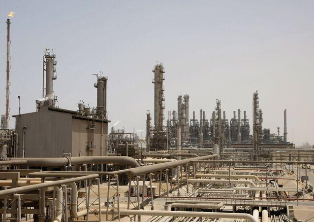 Instalação petrolífera da empresa Aramco, na Arábia Saudita