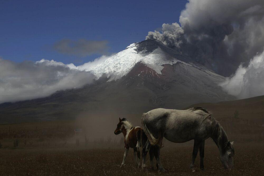 Vulcão Cotopaxi, no Equador