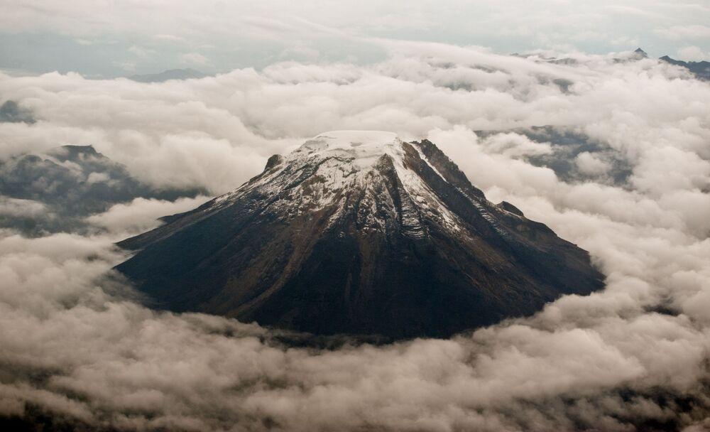 Vulcão Nevado del Tolima, na Colômbia