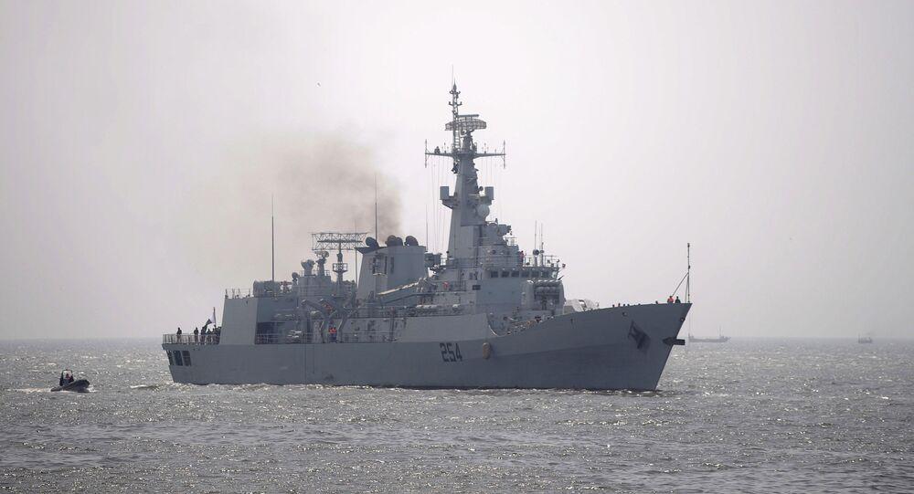 Navio da Marinha do Paquistão (imagem referencial)