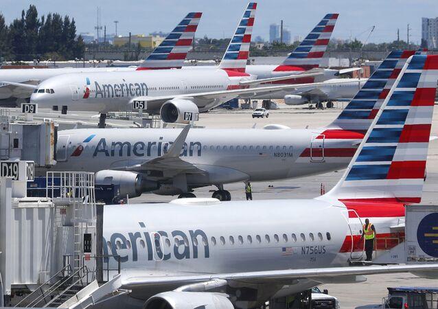 Aviões da American Airlines