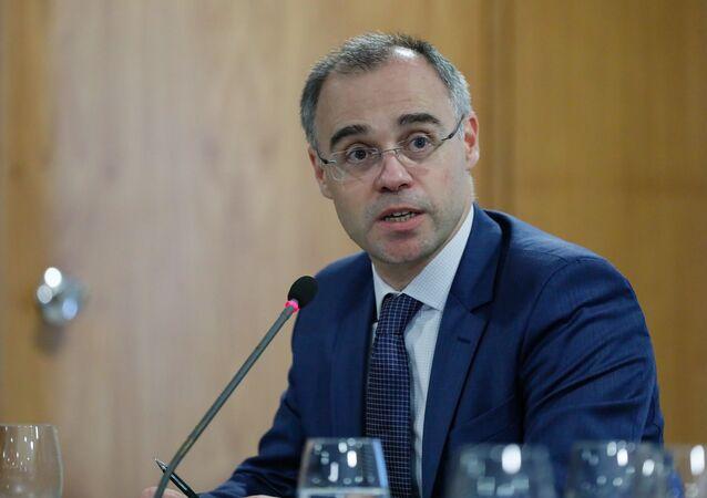 Novo ministro da Justiça e Segurança Pública, André Mendonça.