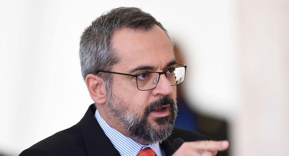 Ministro da Educação Abraham Weintraub (foto de arquivo)