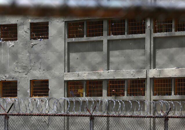 Prisão de Rodeo III, em Guatire, Venezuela, em 1 de julho de 2016
