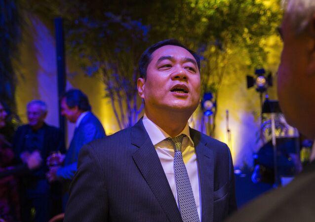 O embaixador da China no Brasil, Yang Wanming.