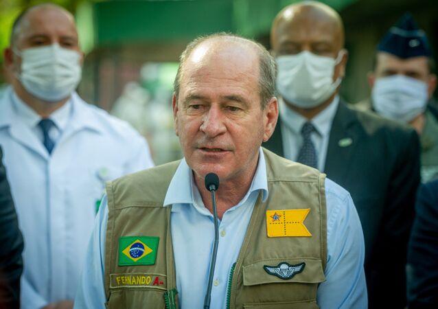 Ministro da Defesa, general Fernando Azevedo, durante evento em Porto Alegre (RS)