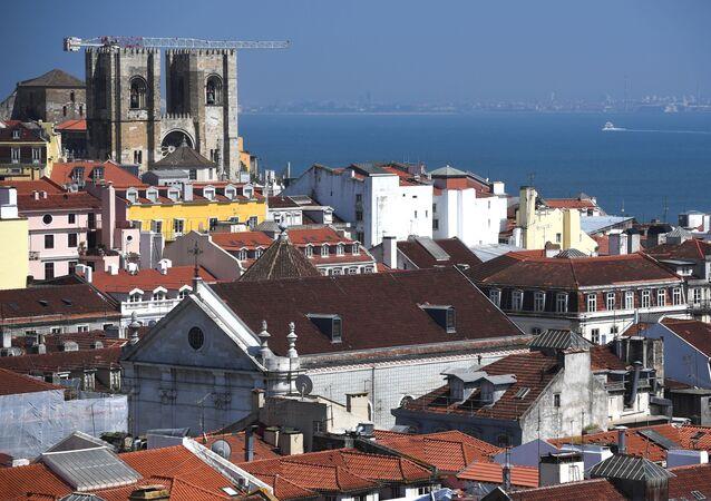 Vista para Sé de Lisboa