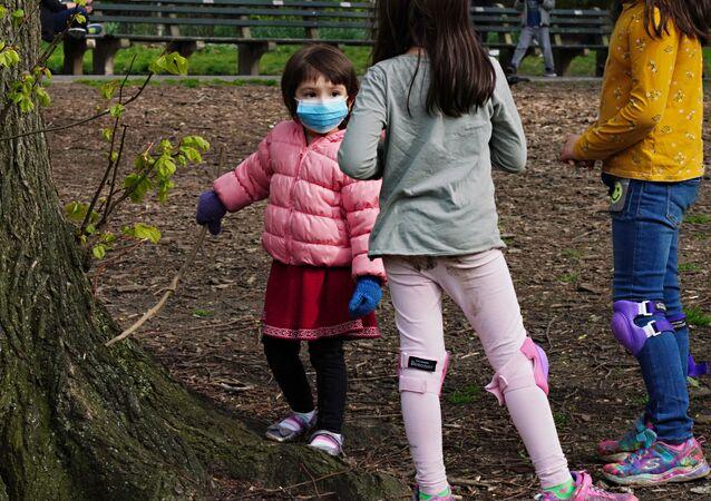 Crianças em Nova York (foto de arquivo)