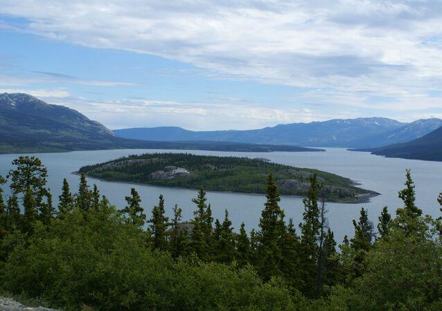 Lago Tagish, Canadá