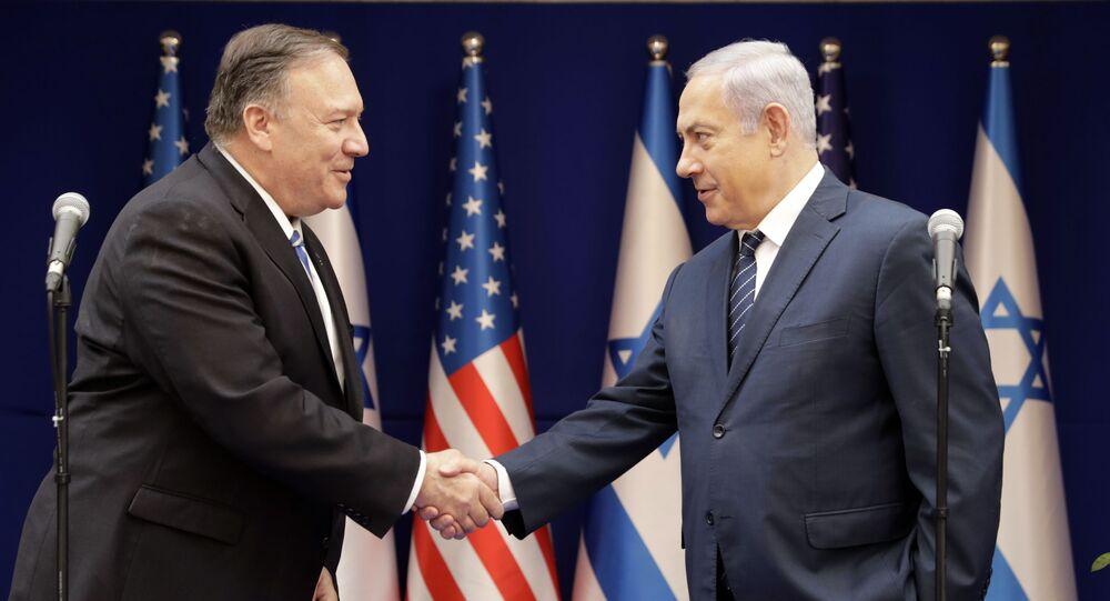 Encontro entre Mike Pompeo e Benjamin Netanyahu em Israel