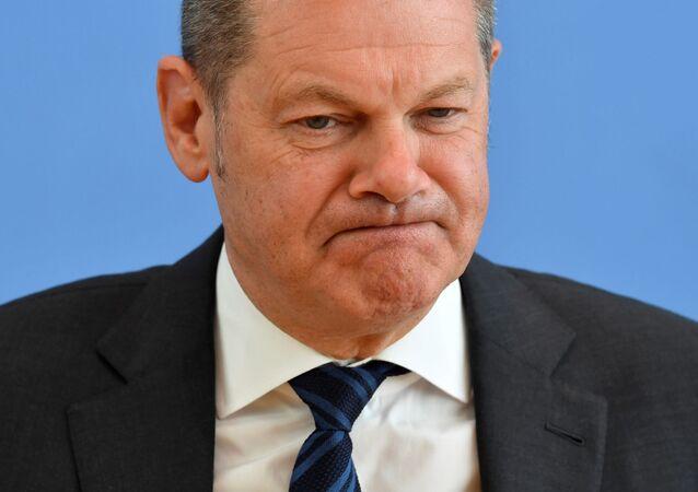 Olaf Scholz, ministro das Finanças da Alemanha (Arquivo)