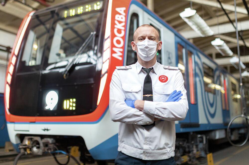 Maquinista do metrô de Moscou