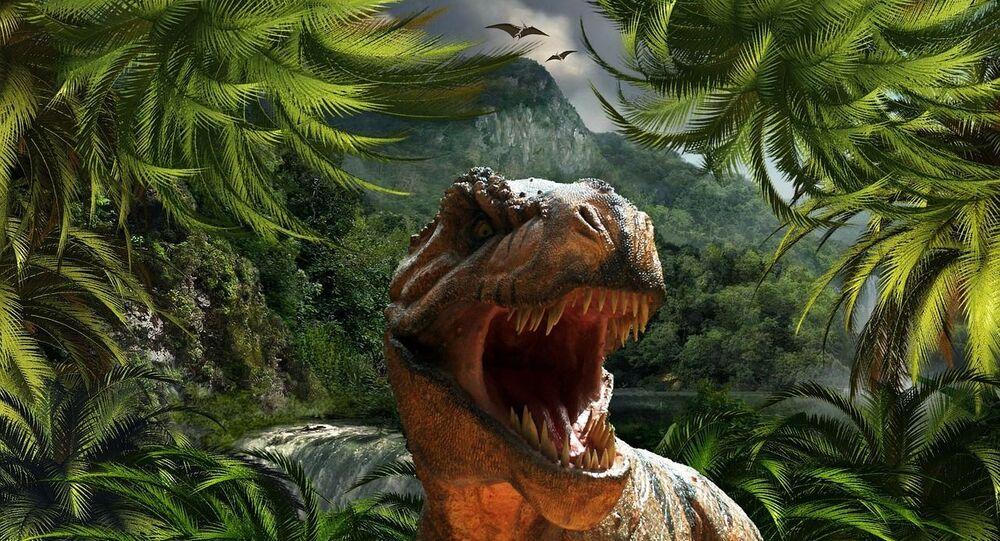 Tiranossauro Rex (ilustração gráfica)