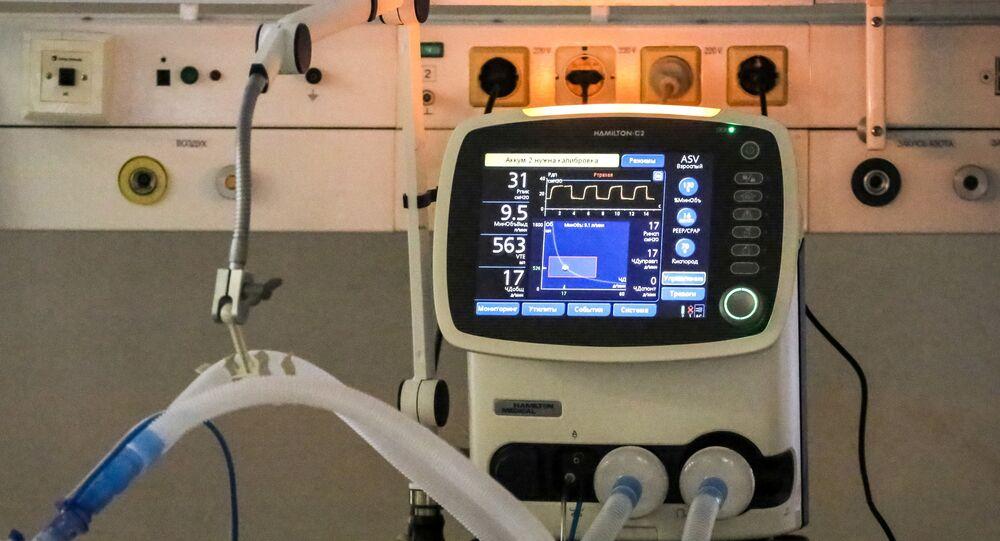 Ventilador pulmonar (imagem de arquivo)
