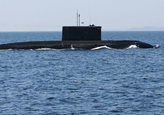 Submarino do projeto  636.3 Varshavyanka