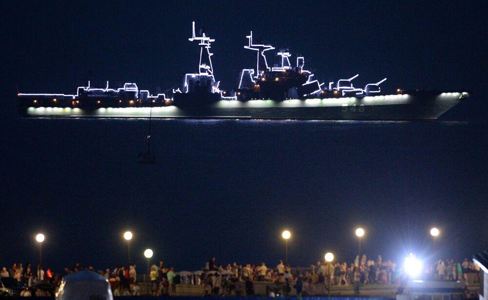 Navio antissubmarino russo Admiral Panteleev