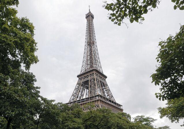 Torre Eiffel, em Paris.