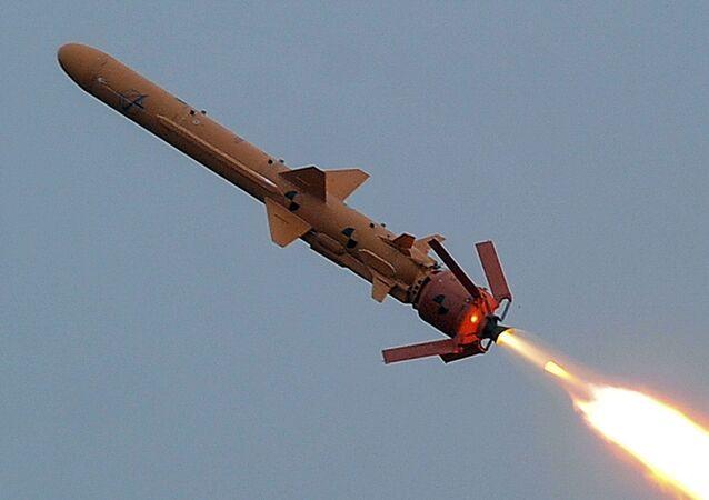 Míssil ucraniano Neptun é testado na região de Odessa, na Ucrânia