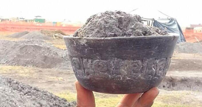 Artefato que atesta a estada do homem na zona há mais de 15.000 anos