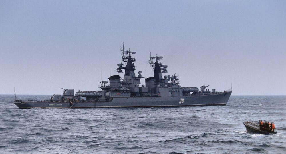 Admiral Golovko da frota russa do mar Negro
