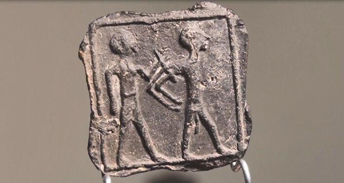 Rara peça de barro de 3.500 anos descoberta em Israel