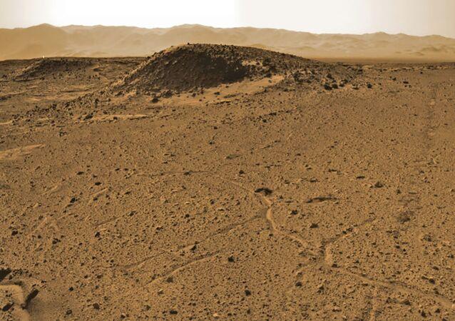 Região de Kimberley em Marte