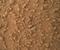 Pequeno objeto na superfície marciana