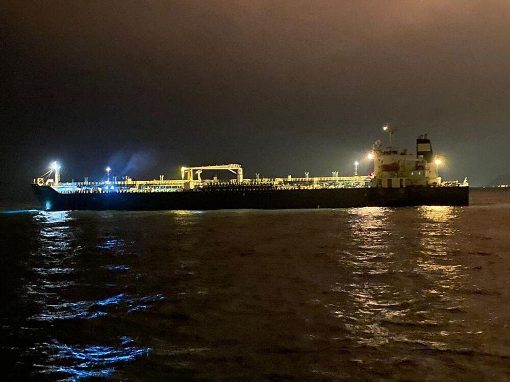 Petroleiro iraniano Fortune na costa da Venezuela