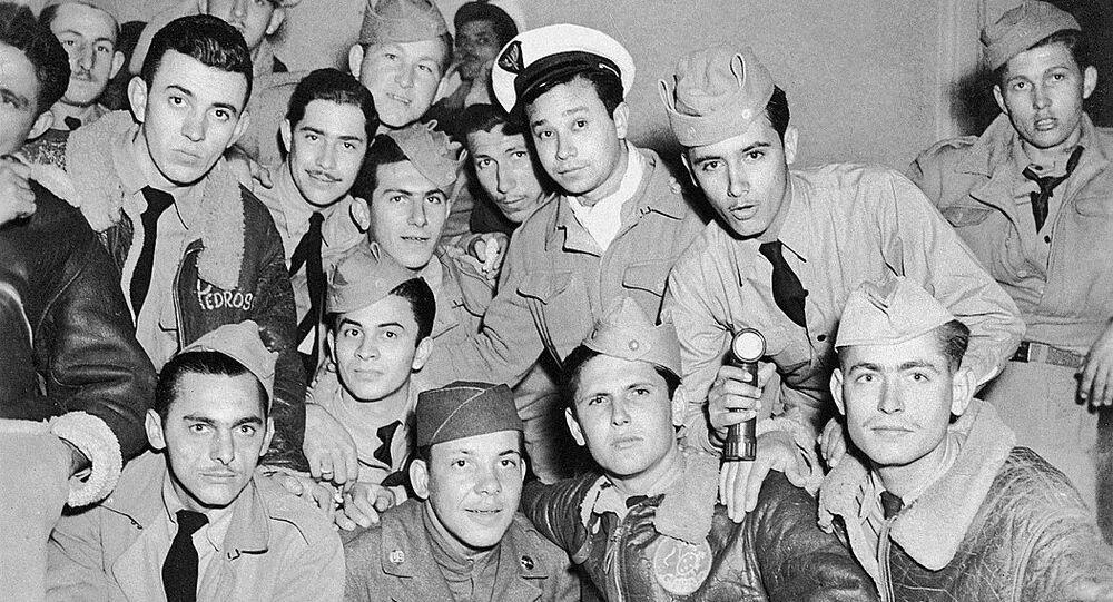 Veteranos de guerra da Força Aérea Brasileira (FAB) reunidos no Clube dos Praças, no Rio de Janeiro
