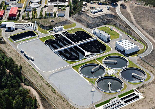 Estação de Tratamento de Águas Residuais de Serzedelo, região norte de Portugal, uma das ETAR participantes do projeto COVIDETEC