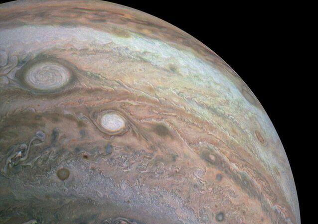 Hemisfério sul de Júpiter